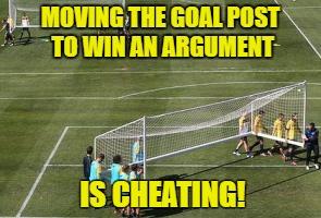 """Résultat de recherche d'images pour """"move the goalpost"""""""