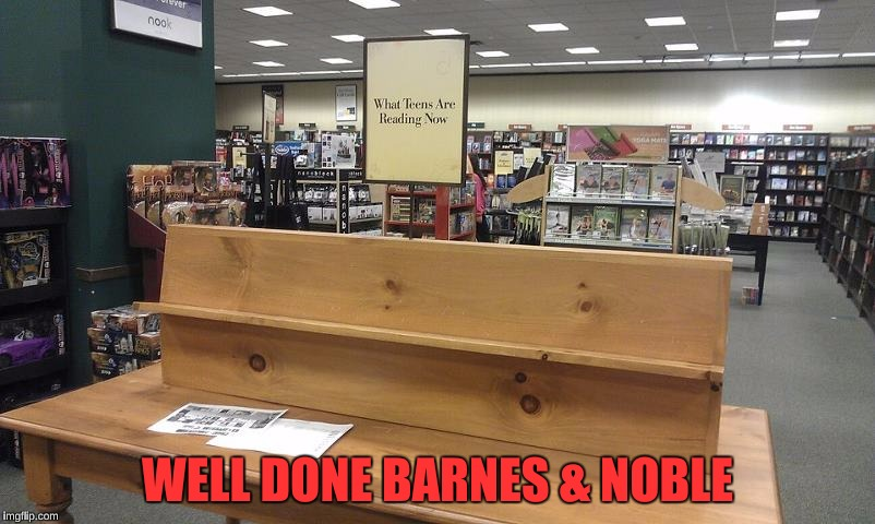 Teenagers are more into memes than books these days | WELL DONE BARNES & NOBLE | image tagged in funny,barnes and noble,teenagers,memes,reading,change in society | made w/ Imgflip meme maker