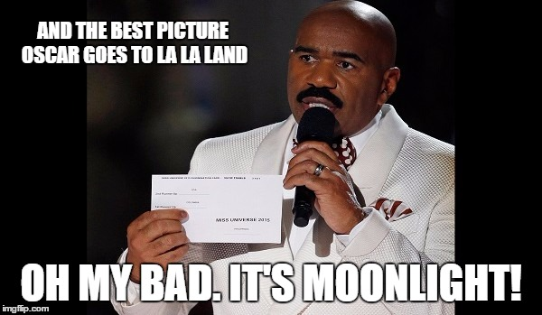 1kesg1 and the winner is steve harvey imgflip,Steve Harvey Meme Oscars