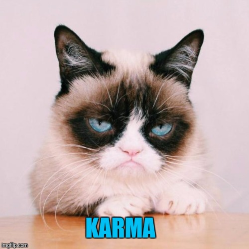KARMA | made w/ Imgflip meme maker