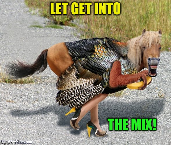 LET GET INTO THE MIX! | made w/ Imgflip meme maker