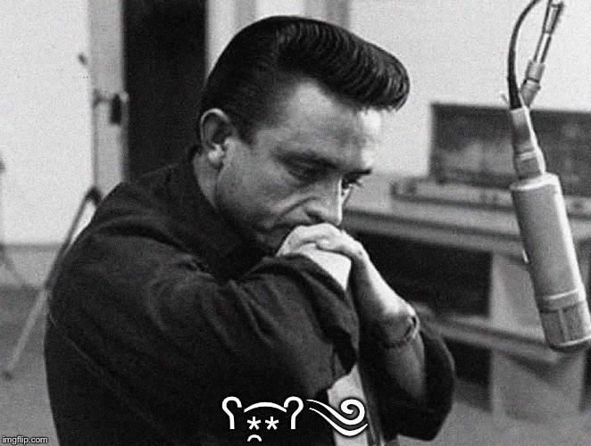 Johnny Cash Disappointed | ʕ⁎̯͡⁎ʔ༄ | image tagged in johnny cash disappointed | made w/ Imgflip meme maker