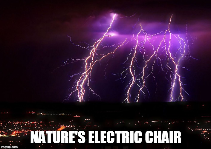 NATURE'S ELECTRIC CHAIR | made w/ Imgflip meme maker