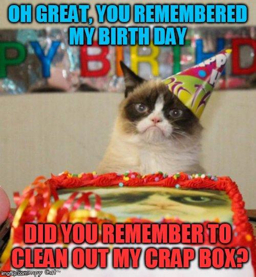 Grumpy Cat Birthday Meme Imgflip