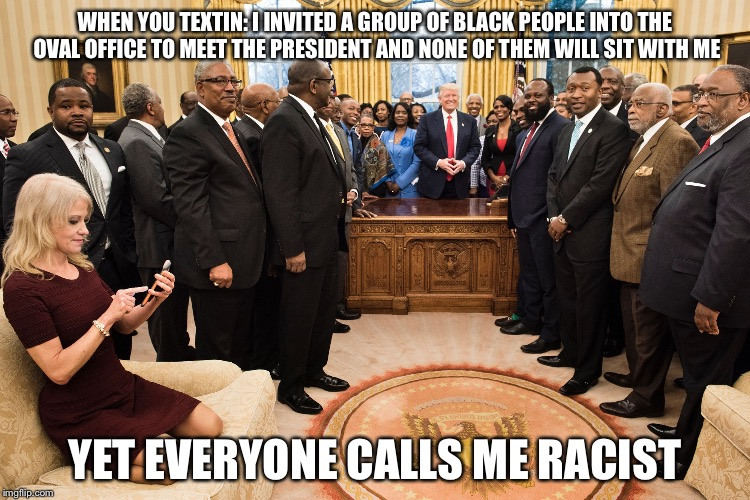 Funny Meme Black People : Image tagged in kellyanne conway memes funny imgflip