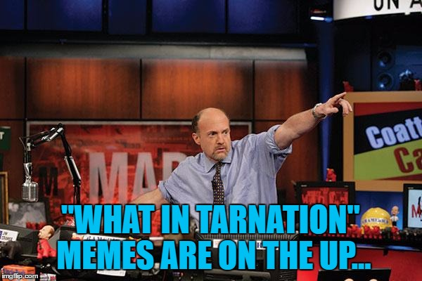 """WHAT IN TARNATION"" MEMES ARE ON THE UP... 