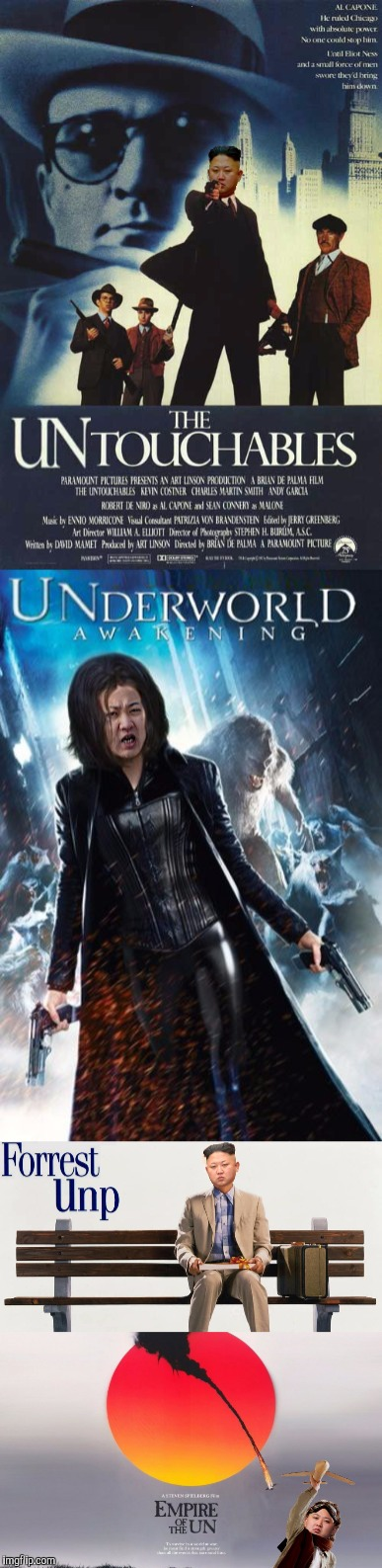 UNINFILM PART1 | . | image tagged in kim jung un,movies,funny | made w/ Imgflip meme maker