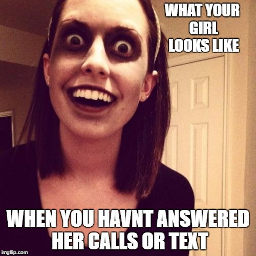 Zombie Overly Attached Girlfriend Latest Memes - Imgflip