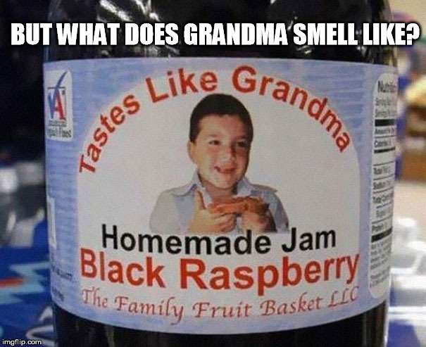 I don't want to know | BUT WHAT DOES GRANDMA SMELL LIKE? | image tagged in grandma,really,bad taste,funny,funny memes,vomit | made w/ Imgflip meme maker
