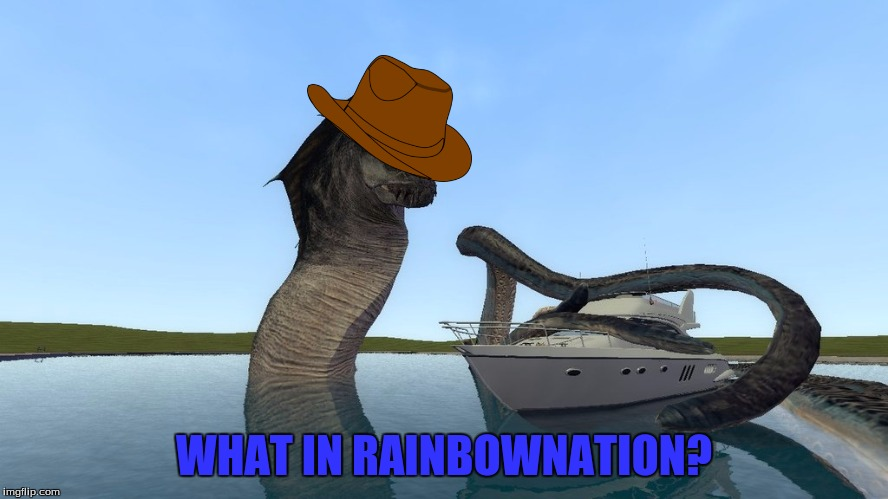 WHAT IN RAINBOWNATION? | made w/ Imgflip meme maker