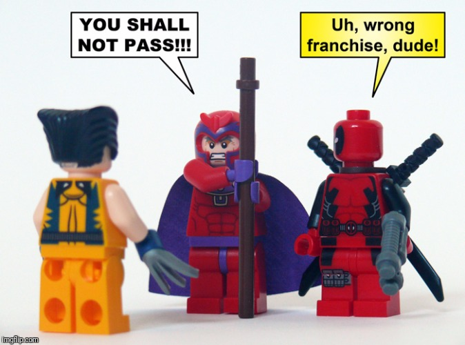 Lego Week! | image tagged in memes,lego,x-men,lotr | made w/ Imgflip meme maker
