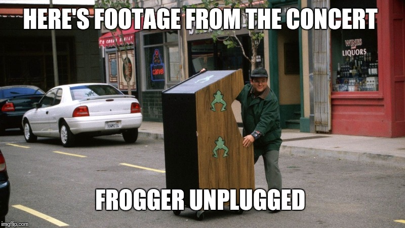 "DOWNLOAD: FROGGER UNPLUGGED FEATURING THE TITLE TRACK ""LOOKING FOR A ROAD LESS TRAVELED"" 