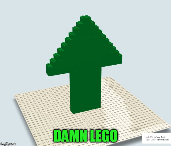DAMN LEGO | made w/ Imgflip meme maker