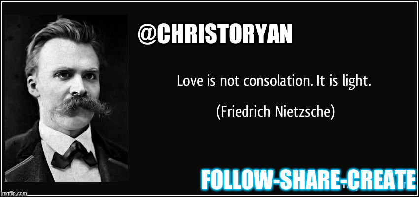 FOLLOW-SHARE-CREATE @CHRISTORYAN | made w/ Imgflip meme maker