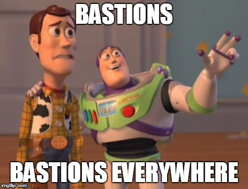 X, X Everywhere Meme | BASTIONS BASTIONS EVERYWHERE | image tagged in memes,x x everywhere,overwatch,season 4 | made w/ Imgflip meme maker