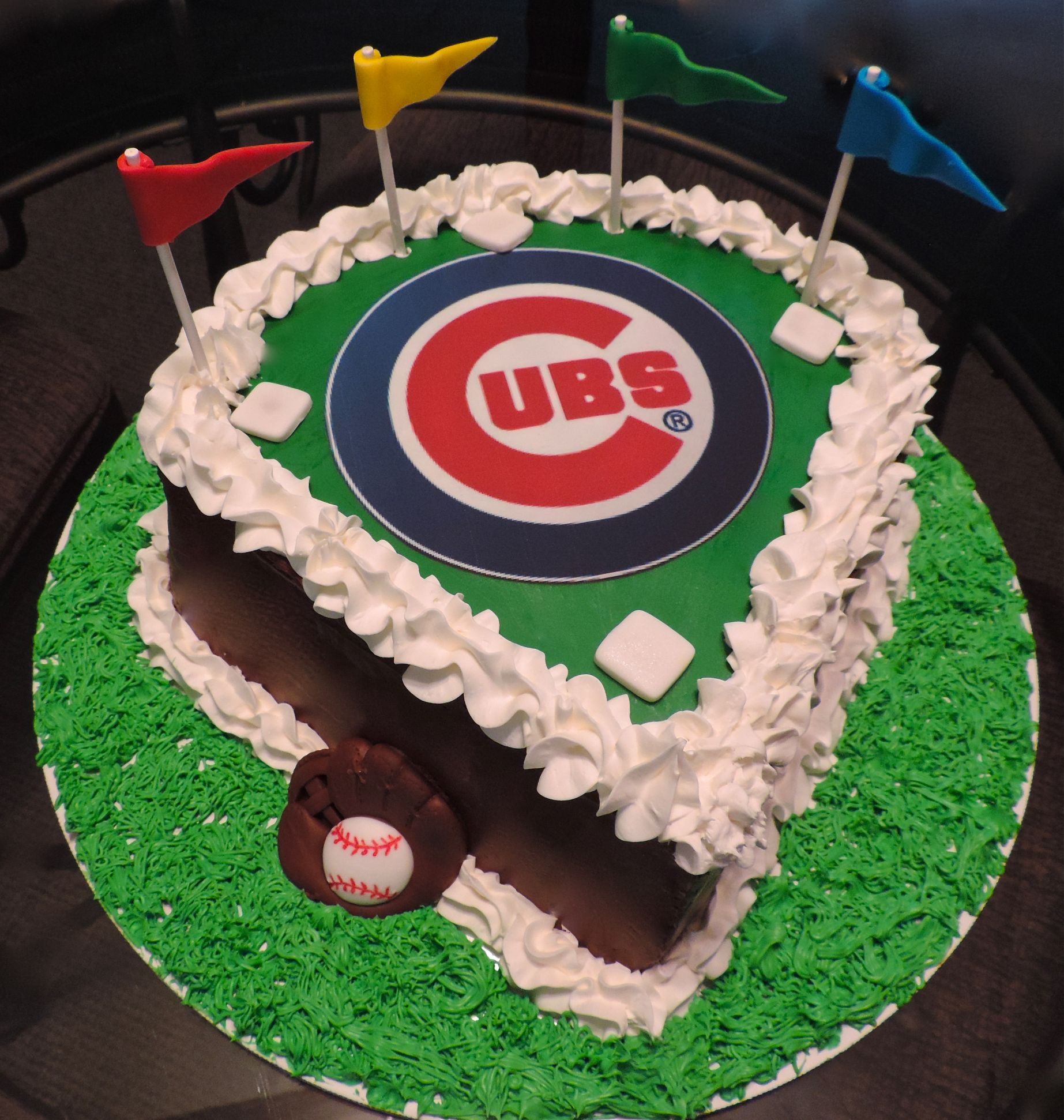 Cubs Bday Cake Blank Template Imgflip