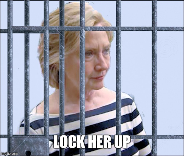 LOCK HER UP | made w/ Imgflip meme maker
