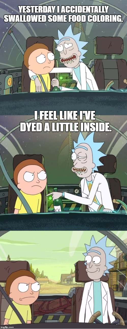 Rick and morty puns