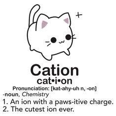Introducing different types of RayCats | CATION AN ION WITH A PAWSITIVE CHARGE | image tagged in memes,radioactive | made w/ Imgflip meme maker
