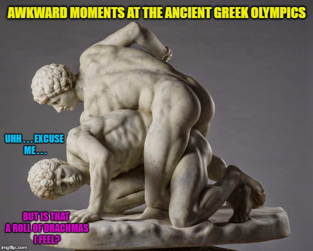 Awkward Moments In Greek Olympics History Imgflip