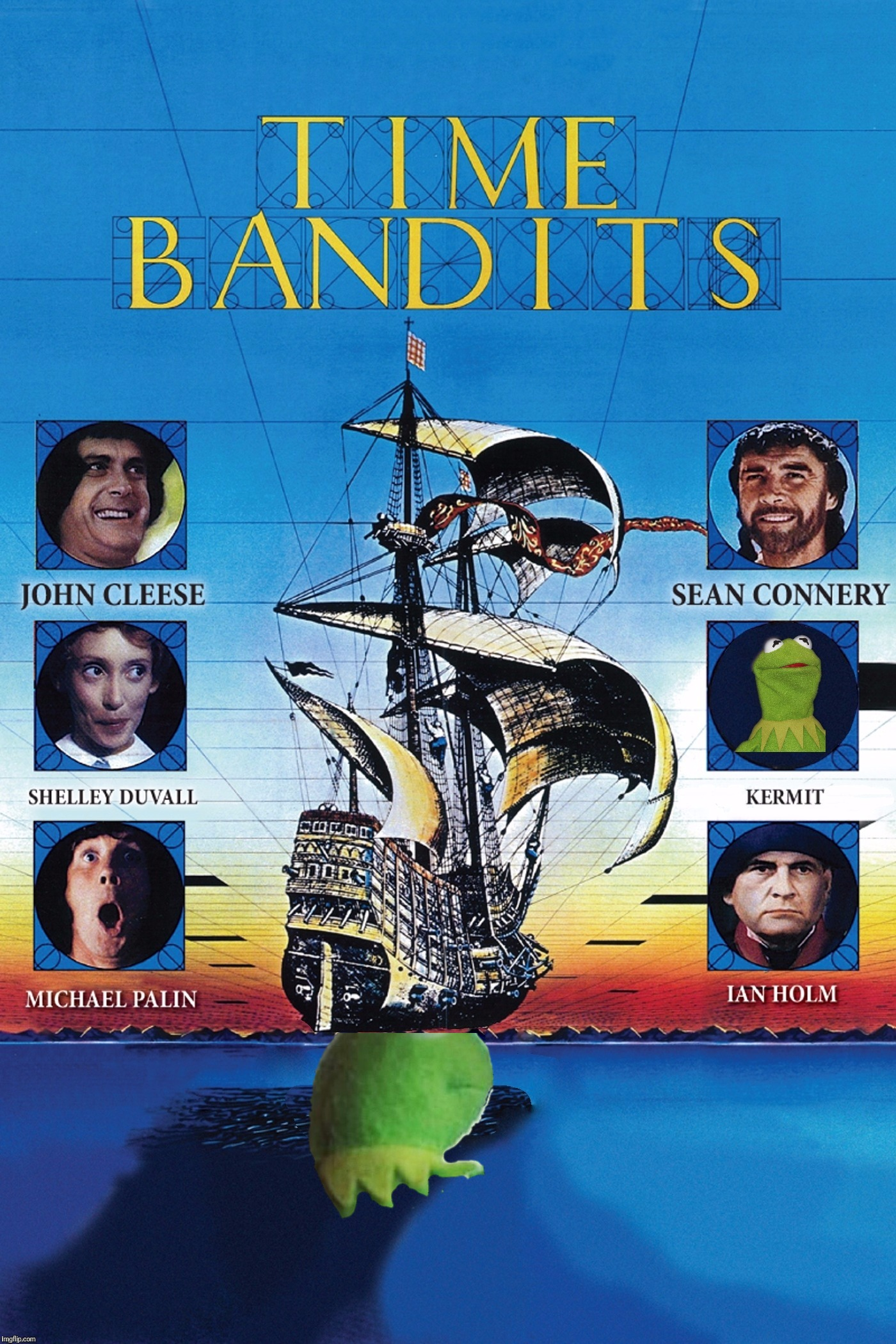 Time Bandits Connery Takes Kermit In As His Own Son How