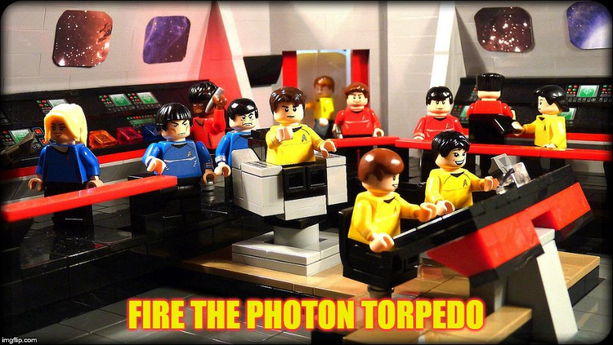 FIRE THE PHOTON TORPEDO | made w/ Imgflip meme maker