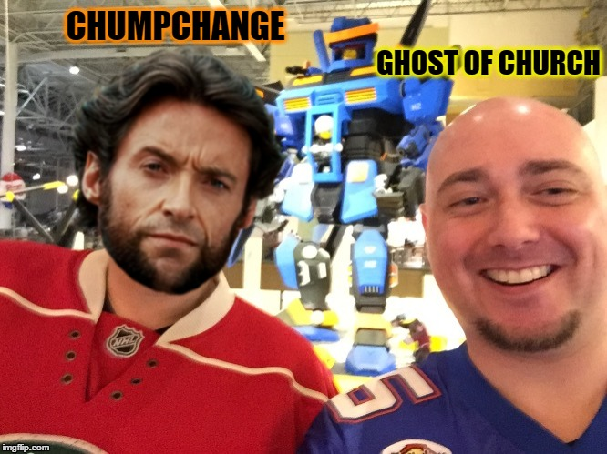 CHUMPCHANGE GHOST OF CHURCH | made w/ Imgflip meme maker