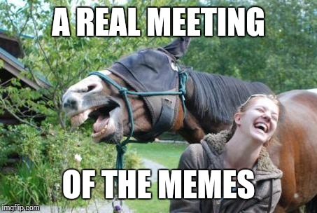 A REAL MEETING OF THE MEMES | made w/ Imgflip meme maker