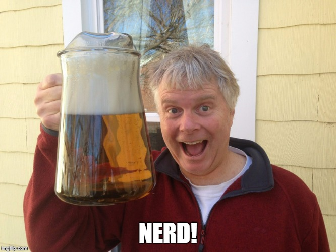 NERD! | made w/ Imgflip meme maker