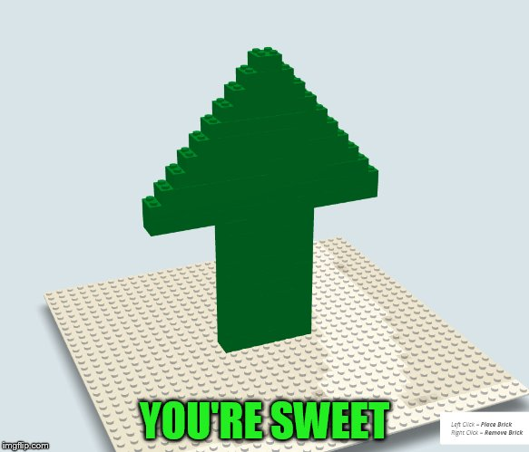 YOU'RE SWEET | made w/ Imgflip meme maker
