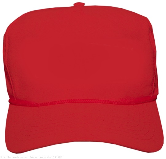 High Quality blank red MAGA hat Blank Meme Template