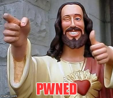 PWNED | made w/ Imgflip meme maker