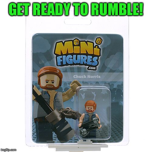 GET READY TO RUMBLE! | made w/ Imgflip meme maker