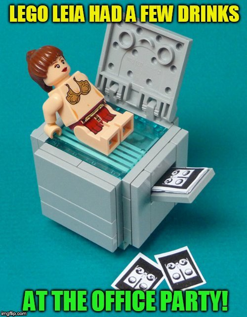 Lego Week! March 2nd to 9th ( A JuicyDeath1025 Event) | , | image tagged in lego week,lego,princess leia,memes,party,drinks | made w/ Imgflip meme maker