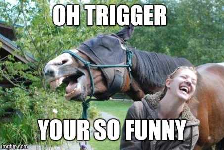 OH TRIGGER YOUR SO FUNNY | made w/ Imgflip meme maker