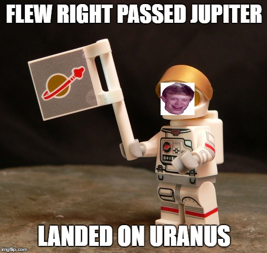 FLEW RIGHT PASSED JUPITER LANDED ON URANUS | made w/ Imgflip meme maker