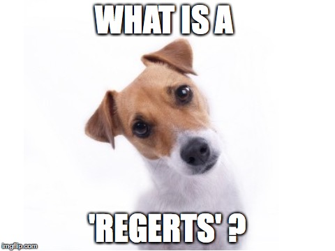 WHAT IS A 'REGERTS' ? | made w/ Imgflip meme maker