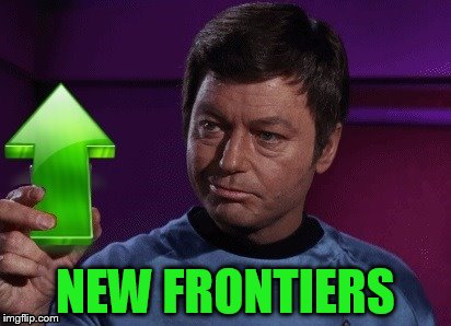 NEW FRONTIERS | made w/ Imgflip meme maker