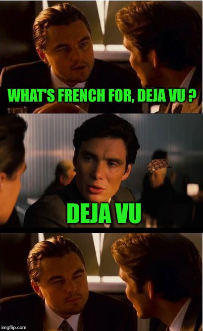 "Hopefully not a ""deja vu"" post :-) 