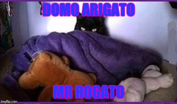 DOMO ARIGATO MR ROGATO | made w/ Imgflip meme maker