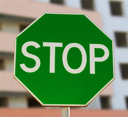 Green stop sign blank template imgflip high quality green stop sign blank meme template pronofoot35fo Images