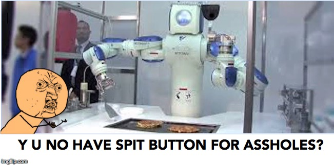 Burger Flipping Robot | . | image tagged in funny memes,robotics | made w/ Imgflip meme maker