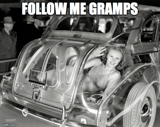 FOLLOW ME GRAMPS | made w/ Imgflip meme maker