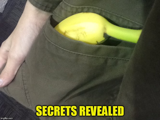 SECRETS REVEALED | made w/ Imgflip meme maker