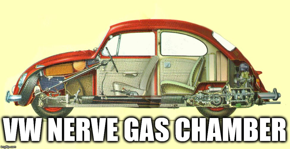 VW NERVE GAS CHAMBER | made w/ Imgflip meme maker