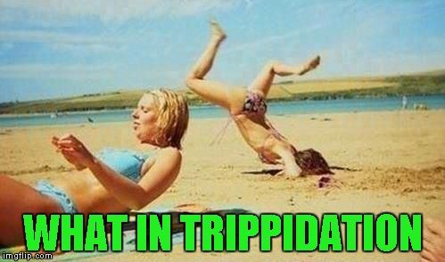 What in Tarnation Week ... A Santadude event | WHAT IN TRIPPIDATION | image tagged in women be trippin',memes,what in tarnation week,funny,what in tarnation,trippin' | made w/ Imgflip meme maker