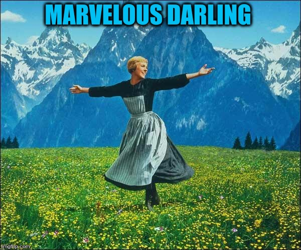 MARVELOUS DARLING | made w/ Imgflip meme maker