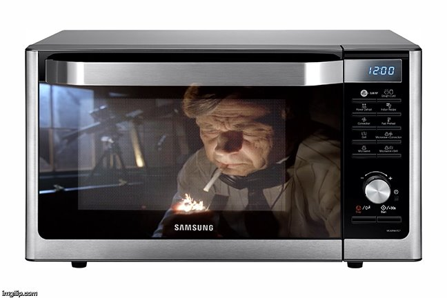 1lcf78 smoking man microwave imgflip