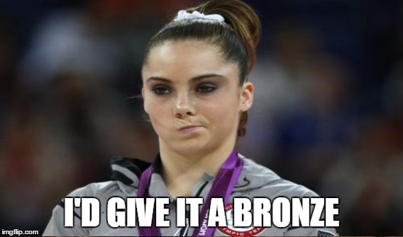 I'D GIVE IT A BRONZE | made w/ Imgflip meme maker