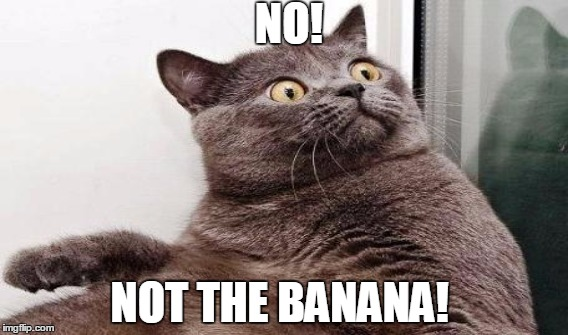 NO! NOT THE BANANA! | made w/ Imgflip meme maker